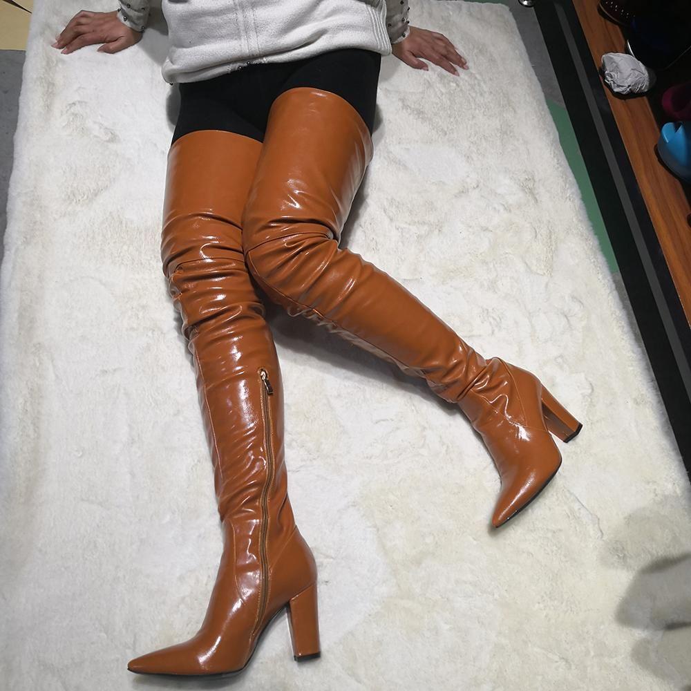 Hot Thigh High Boots