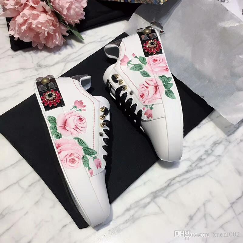 Givenchy shoes Nuovi arrivi Loveres Scarpe casual Classic Fashion Show Style da uomo Womens Comfort Platform Leather Sneakers Running Lace Up Sports hc18040701