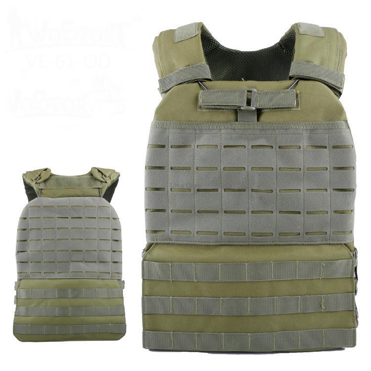 Formazione Gilet Tattico Body Armor Cs Wargame Combattimento Paintball Maglia Molle Piatto Carrierr Gilet