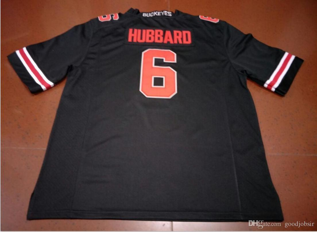 las mujeres de Hombres jóvenes # 6 Sam Hubbard Ohio State Buckeyes tamaño del jersey del fútbol s-5XL o costumbres, cualquier nombre o el número del jersey