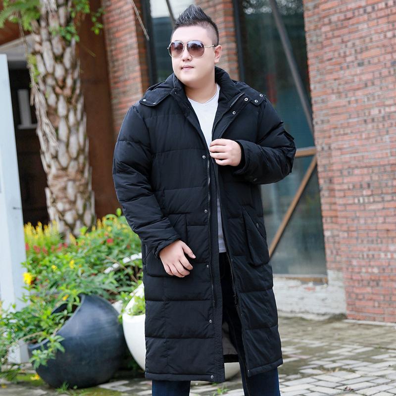 2018 Super size XL-8XL 9XL 10XL Giacca invernale da uomo Marca invernale Ispessimento Long Giacca casual da uomo Adatto per 175kg