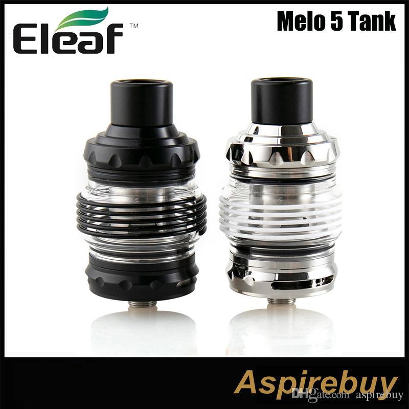 Original Eleaf Melo 5 Tank 2ml 4ML E Cigarette Atomizer With EC-S EC-M Coil Fit Eleaf istick Rim Box MOD Vape E-Cig Vaporizer