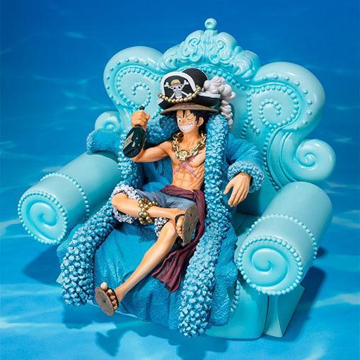 NEW hot 15 cm One Piece 20 Macaco azul D Luffy Action figure brinquedos boneca coleção presente de Natal sem caixa