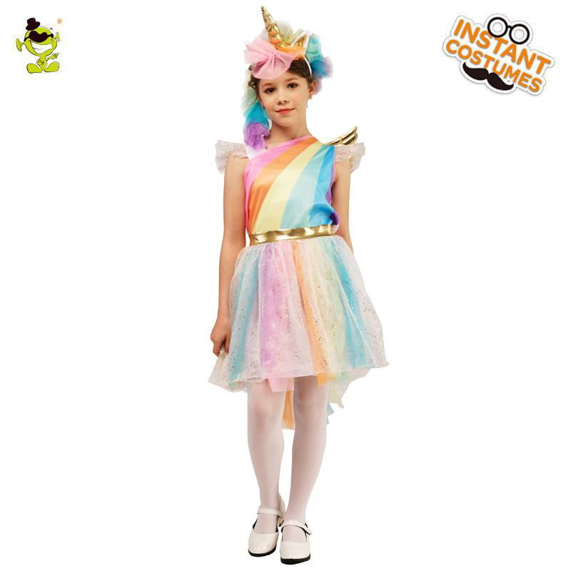 New Design Cute Colorful Costume Fancy Dress Cosplay Outfits Clothings For Carnival Halloween Party