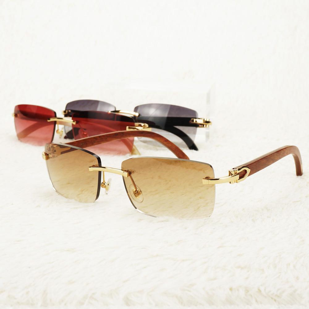 Retro-Sonnenbrille-Männer Carter Brille Luxus Sun-Glas-Rahmen Damenmode Oculos De Sol Außen Schatten für Reisen