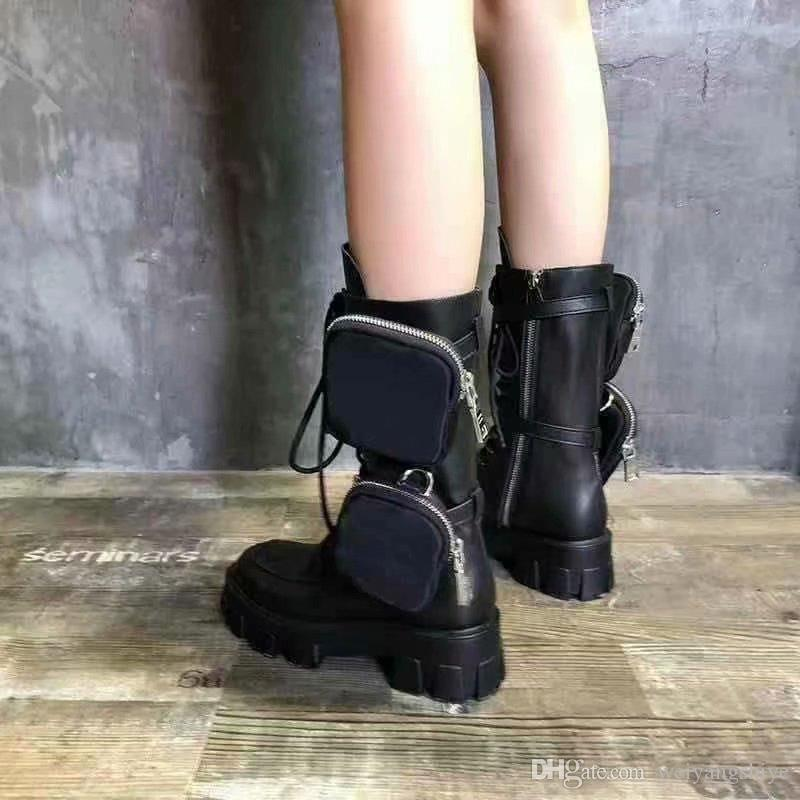 Wild Tube Martin Military Boots Leather