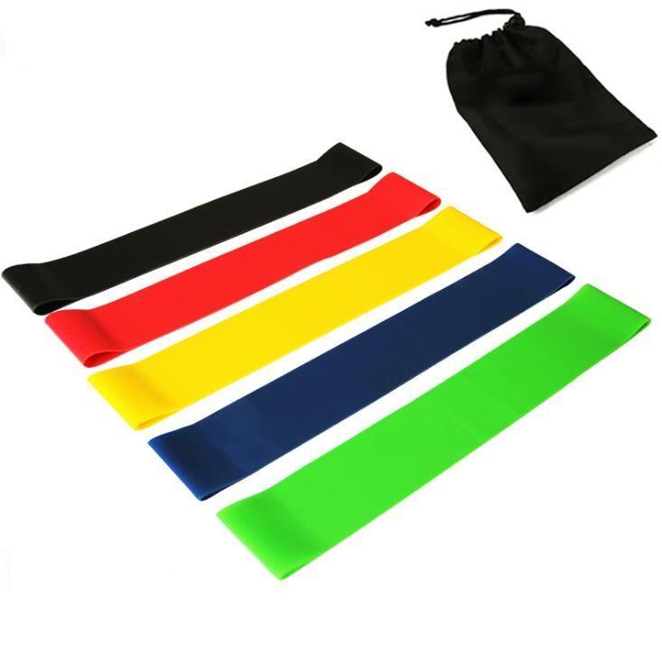 Latex exercício de yoga faixas da resistência Aparelhos de ginástica estiramento perna formação yoga Banda Crossfit elástico ginásio pilates faixa da resistência