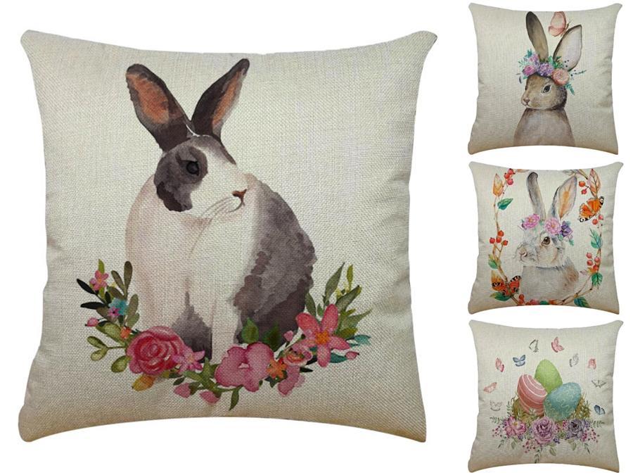 Yıldız Aşk Dekoratif Tavşan Yastıklar Yumuşak Peluş Noel Işık Salon Yastık Ev Dekorasyon Aydınlık Pamuk Tavşan Yastık GA517 # 169