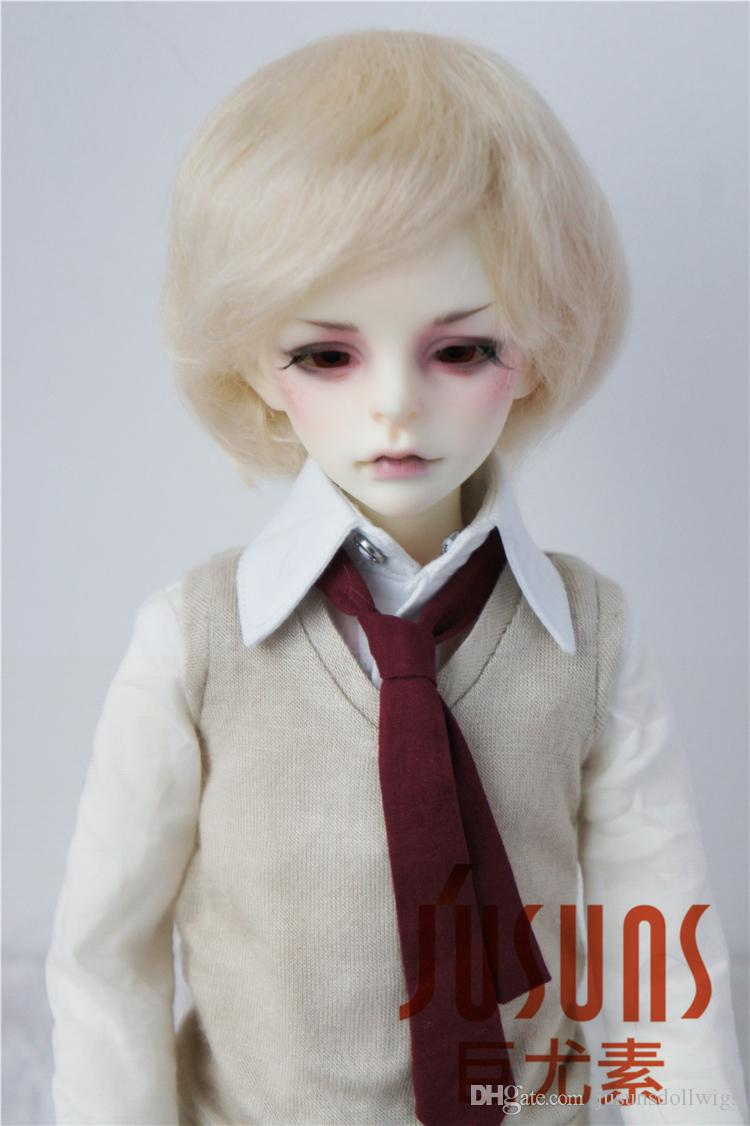 "7-8/"" Silicon Wig Cap for 1//4  MSD BJD SD Dollfie"