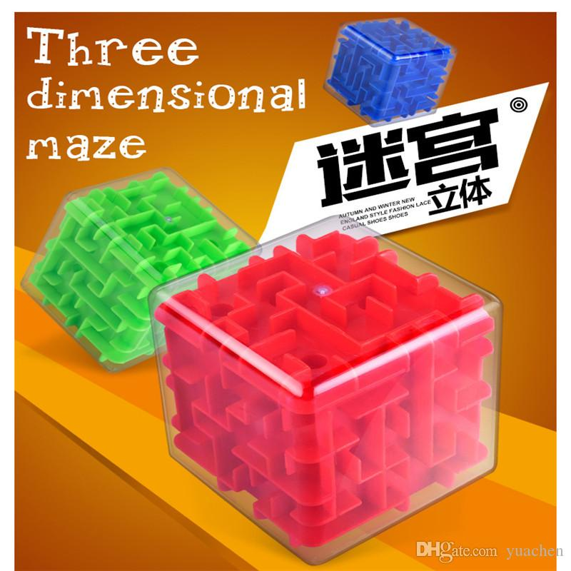 الأطفال التعليمية لعبة المتاهة الكرة عبر الحدود الكبار الضغط لغز لعبة 3D الكرة على شكل متاهة ثلاثية الأبعاد