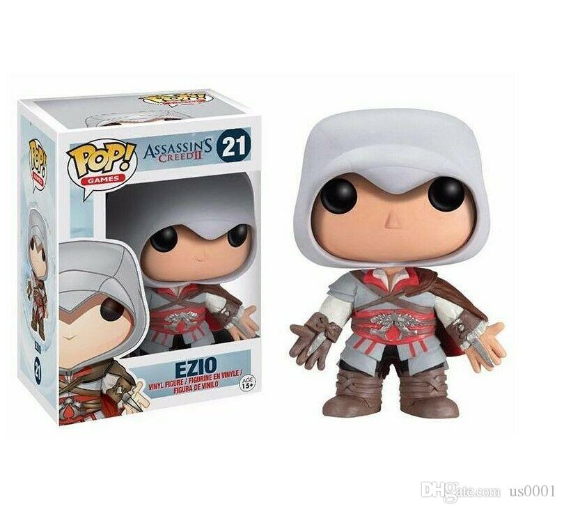 FUNKO POP EZIO 21 # Assassins Creed figura de acción coleccionable modelo de juguete
