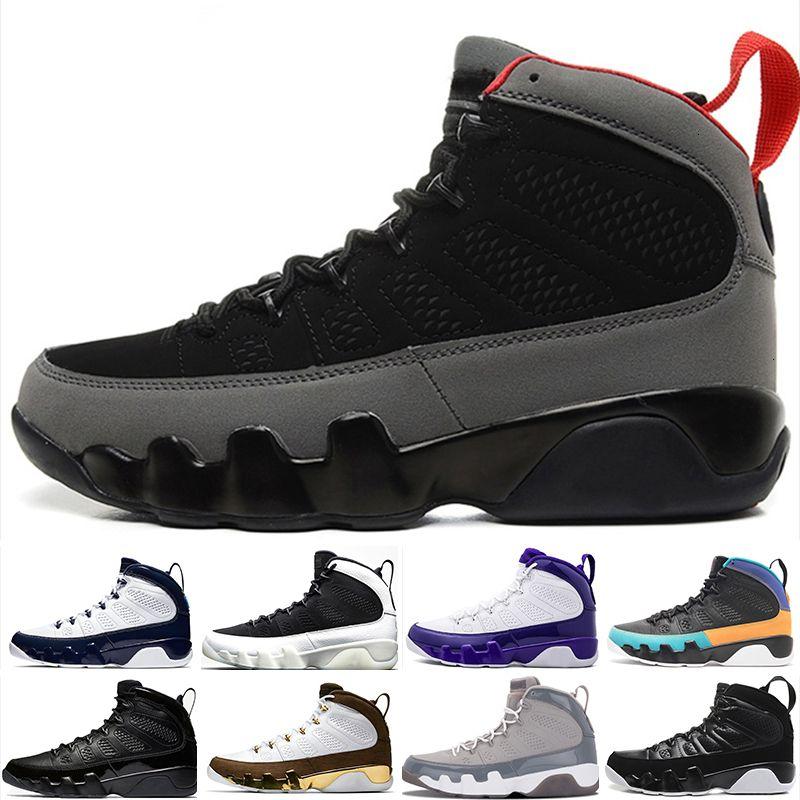 New Mens Basketball Dream Shoes, faites-Unc La Bred Space Jam Tour Yellow Anthracite 9 Sport Formateurs Sneaker Taille 7-13