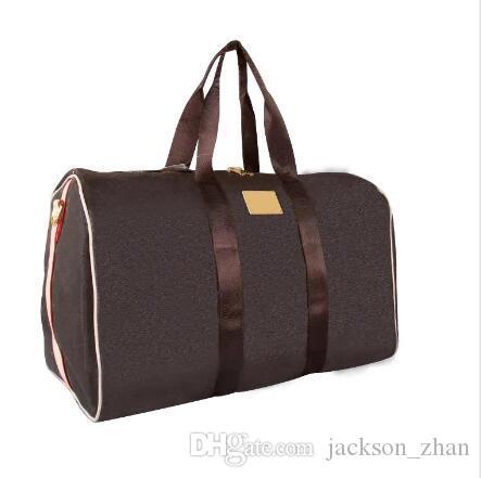 حقائب السفر قدرة المرأة الكبيرة الشهيرة حقائب من القماش الخشن مصمم الكلاسيكية الرجال الساخن بيع عالية الجودة الكتف تحمل الأمتعة