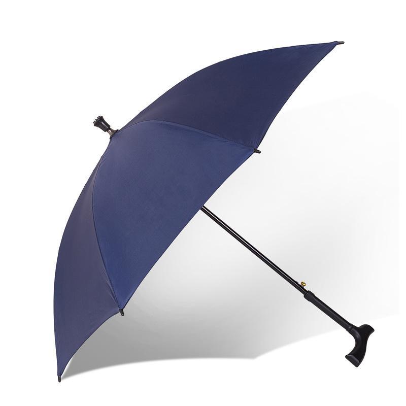 العديد من وظيفة سوبر قوي زائد الصلبة والمسنين مقبض طويل المشي عصا عدم الانزلاق المطر تسلق الجبال أو أشعة الشمس مظلة