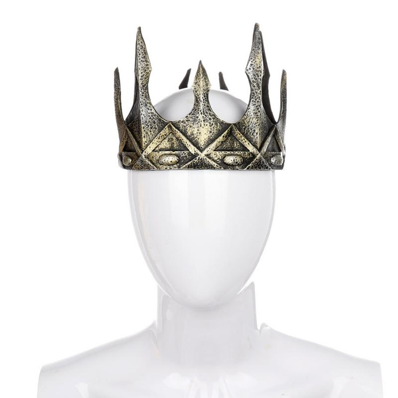 1 new KING CROWN novelty party hat mens crowns headwear dressup costumes HATS