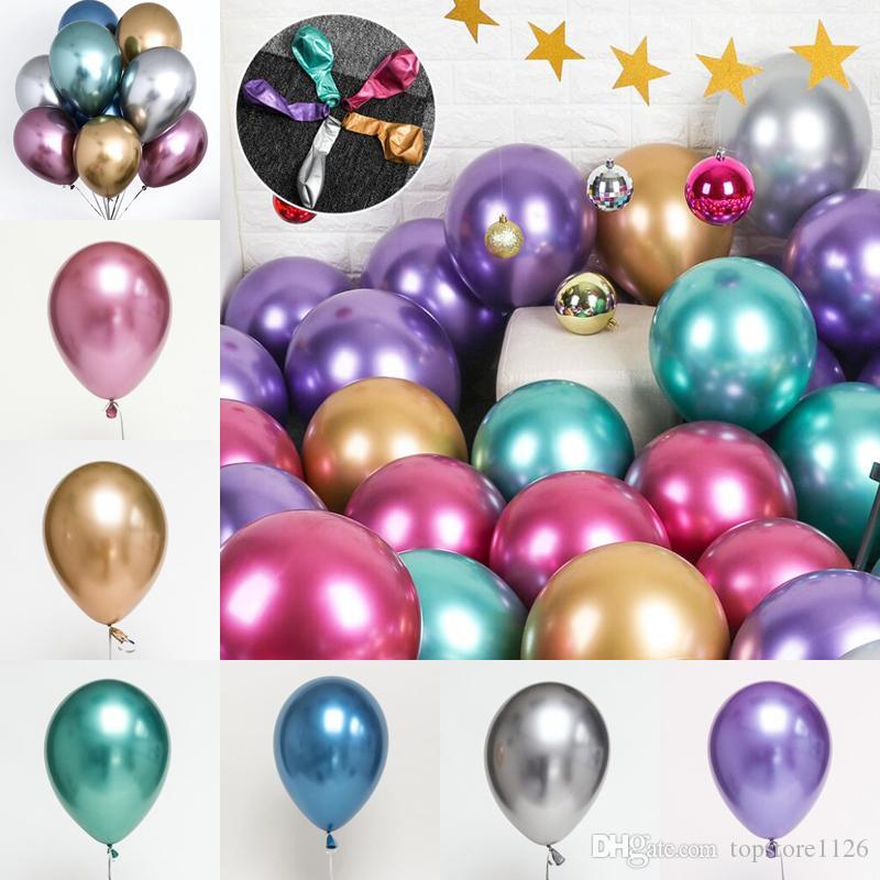 Nova Moda Colorido Balões De Látex Novidade Crianças Brinquedos Bonito da Festa de Aniversário Decorações de Casamento Presentes Frete Grátis