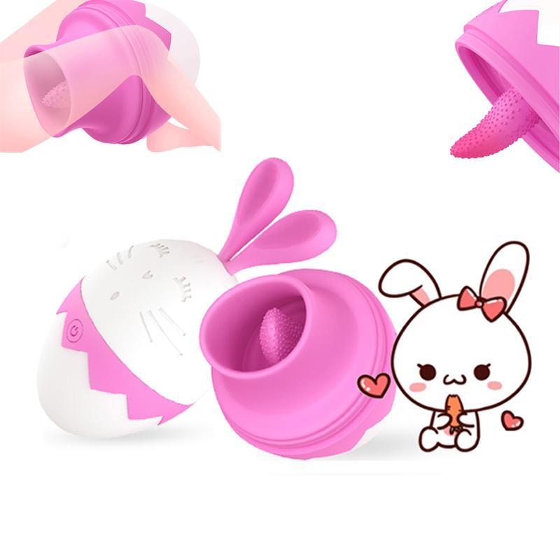7 Mode Clitoris Léchage Stimulateur Langue Vibrateur Mamelon Sucker Poitrine Agrandir Masseur Vibrateur Sex Toys Masturbateur Pour Les Femmes Y190711