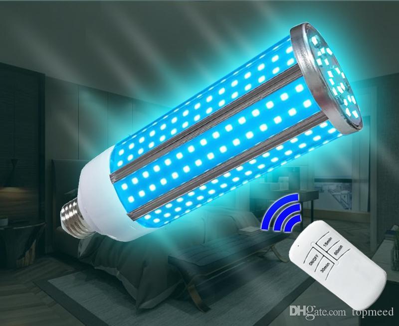 2020 Vendita di luci UV Amazon Ultraviolet Disinfection Lamp 60W E27 Lampada da sterilizzazione UV della famiglia 60W UVC lampada a mais ultravioletta