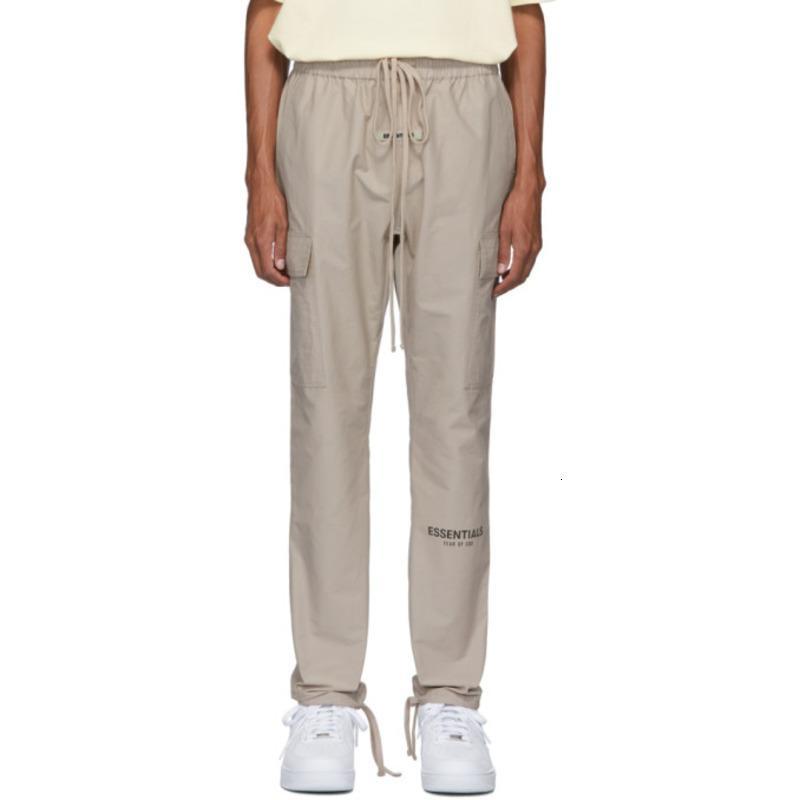 19FW Fear Off God FFOG ESSENTIALS Cargo Pants Couple Women And Mens Designer Fashion Pants S-XL HFXHKZ009
