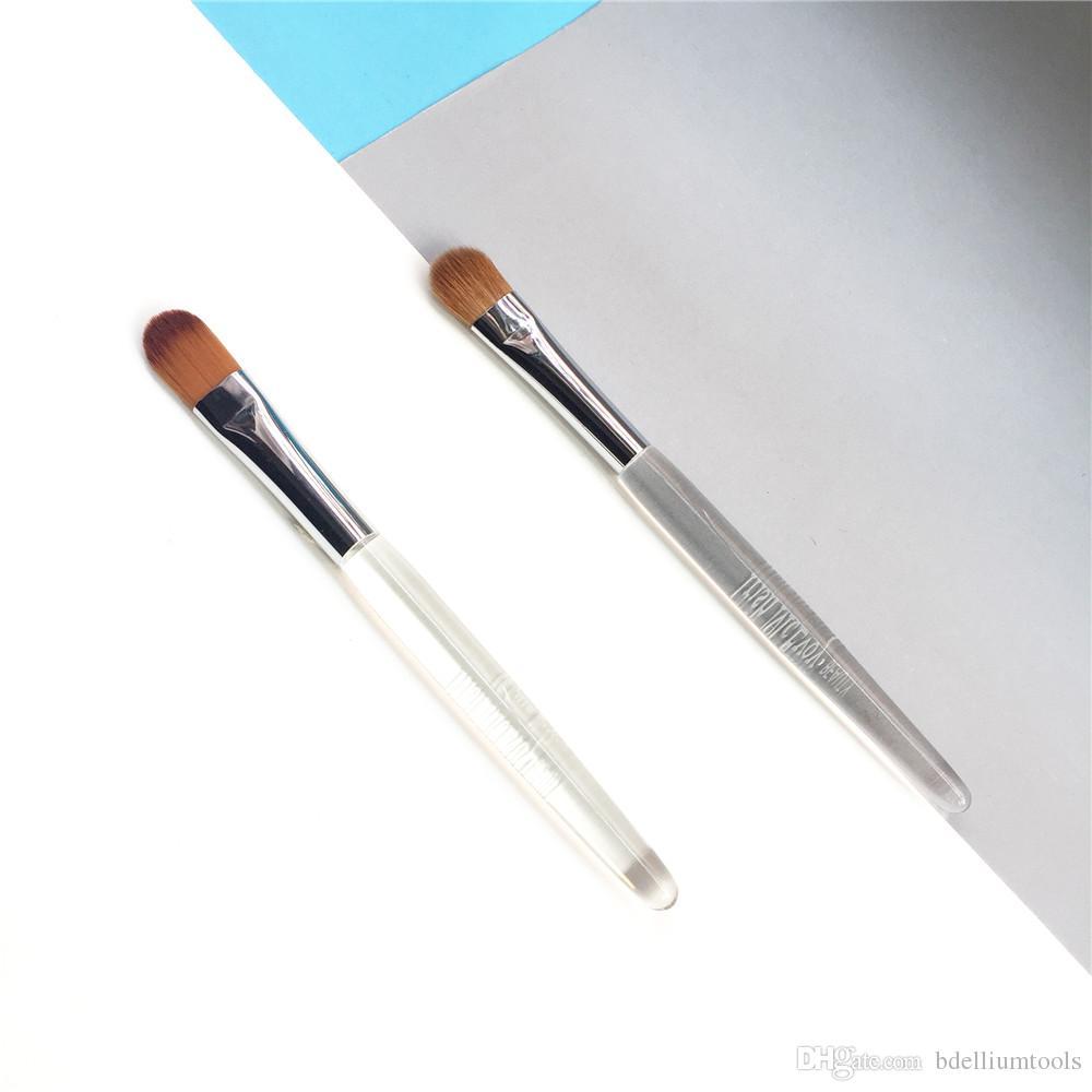 bdbeauty 40 Medium Laydown Eyeshadow Brush / 66 Cream Blender Brush - Perfect Concealer Eye/Nose Shading Makeup Brush Tool