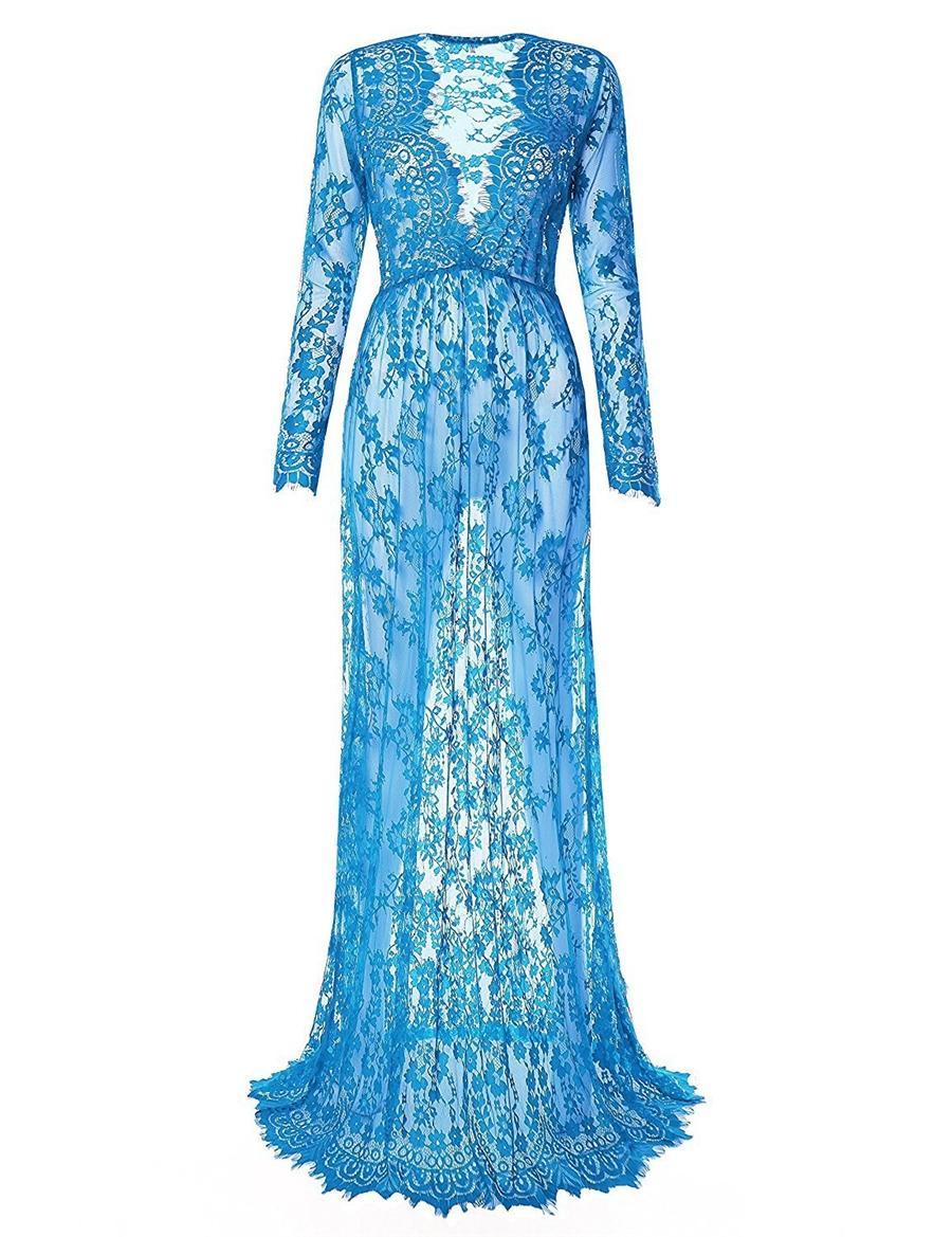 2020 Sexy Inbal Dror Wedding Dress V Neck Sequined Lace Mermaid Bridal Gowns Long Sleeves Backless Beach Wedding Dress Custom #722