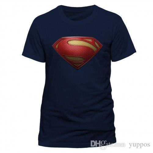 eb8e9faf401 Summer 2018 New Man Of Steel Textured Logo T Shirt Unisex Tg. S ...