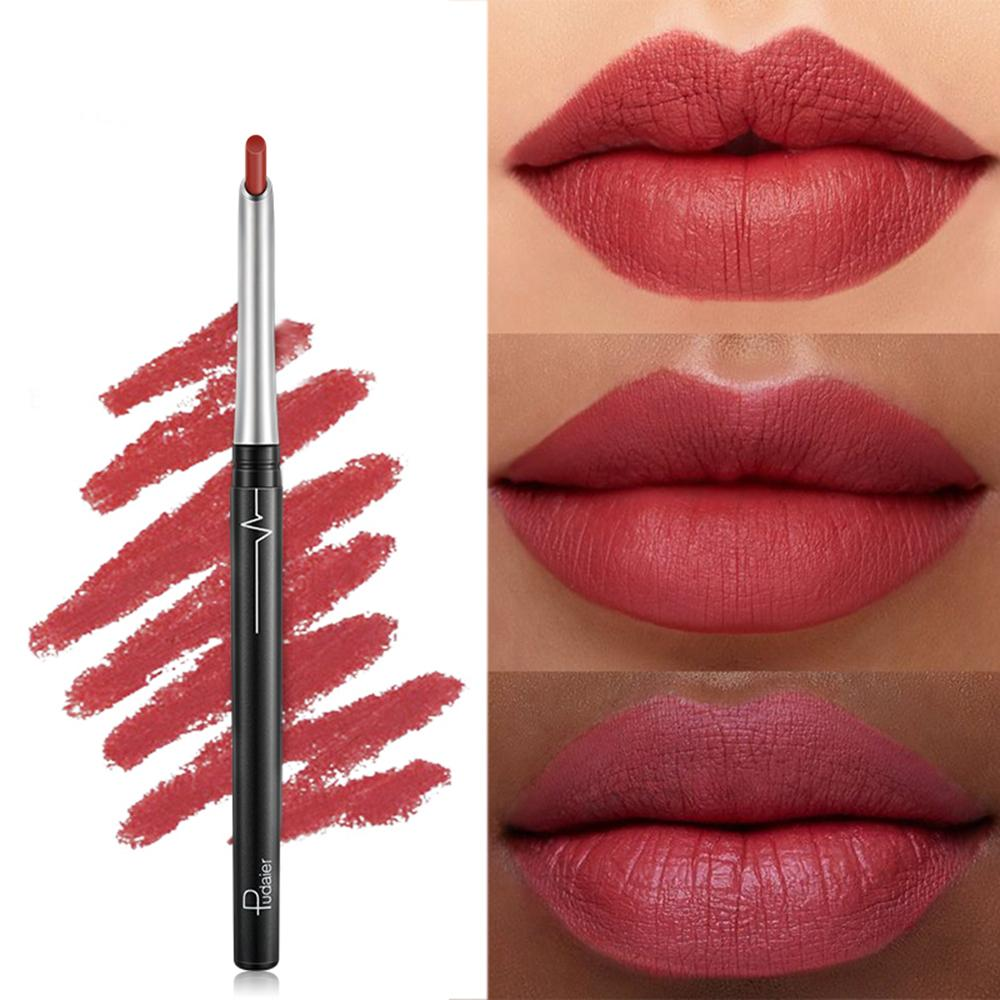 Persistent Waterproof Lipstick Eye Shadow Eyeliner Modify the Pen Matte Don't Touch a Cup Suitable for Many Skin Tones Lipstick