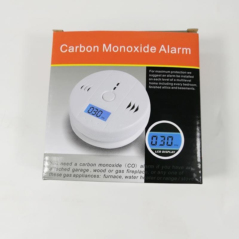CO Karbonmonoksit Gazı Algılayıcı Monitör Alarmı poisining Dedektörü Test Home For Güvenlik Gözetleme Yükseklik Kalite