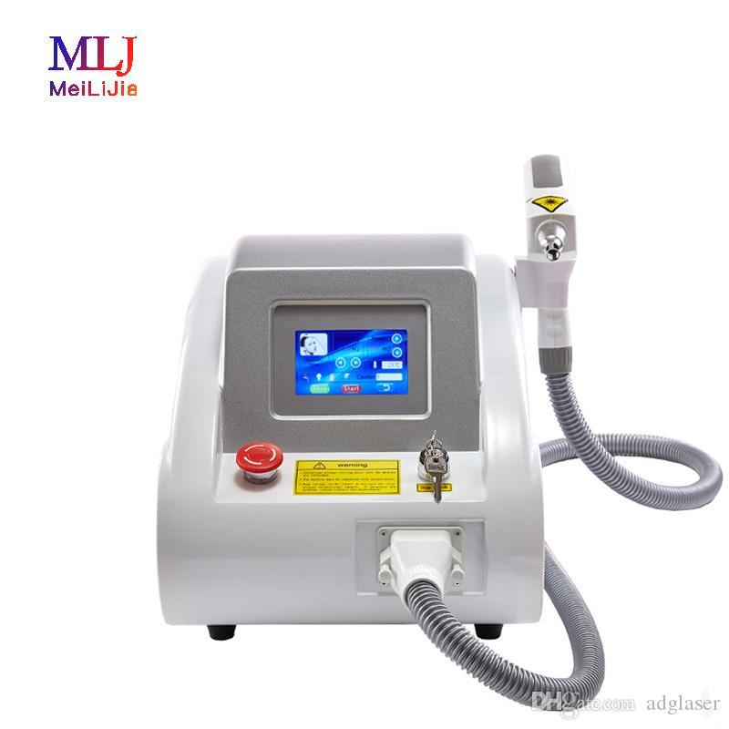 ¡Precio de fábrica! Sistema de eliminación de tatuajes con interruptor Q láser ND YAG portátil / nuevo láser para eliminación de tatuajes / rejuvenecimiento de la piel