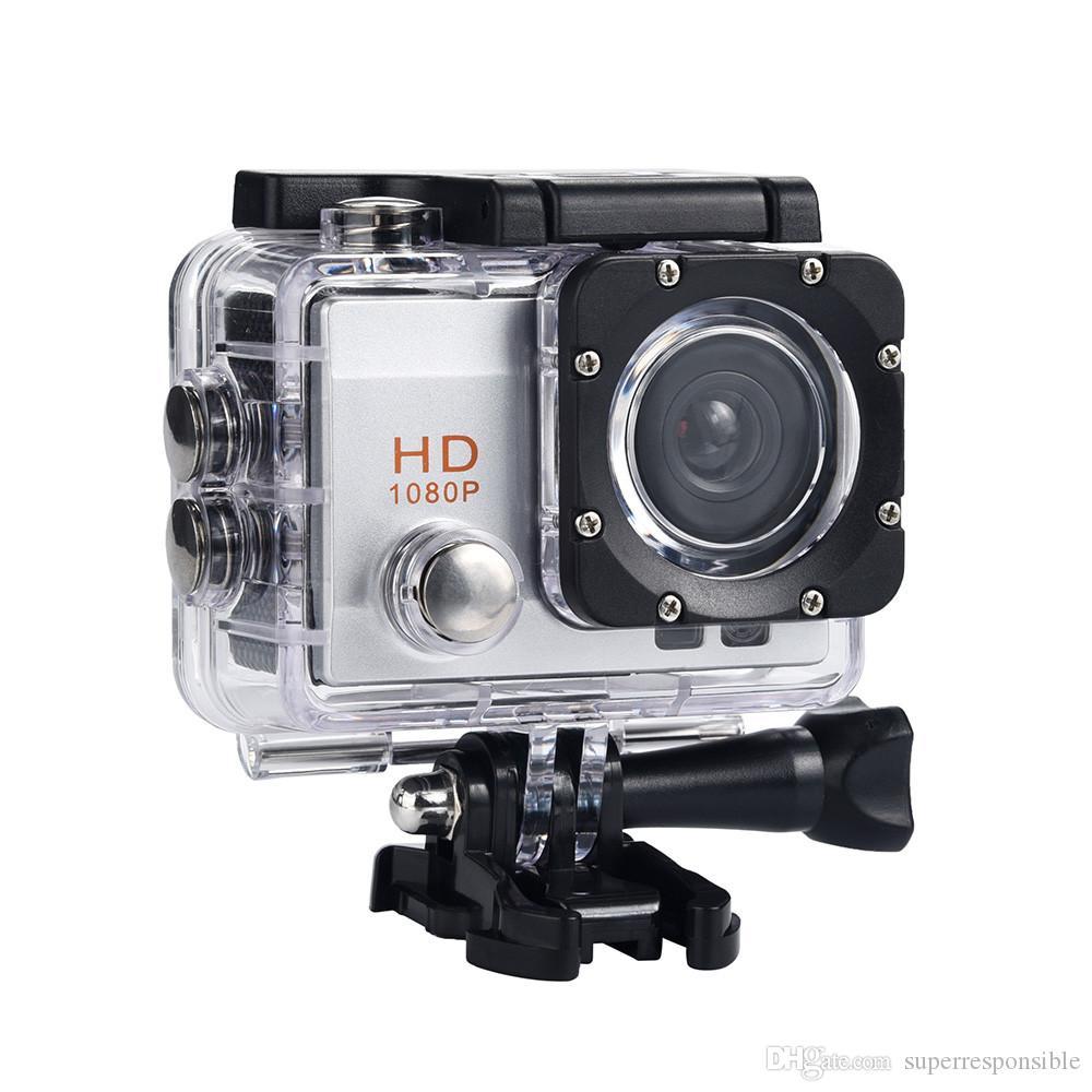Motosiklet dashcamera Spor Kameralar Eylem video Kamera bisikleti bisiklet kaydedici DVR Full HD 1080 p Su Geçirmez Çizgi Kamera DV