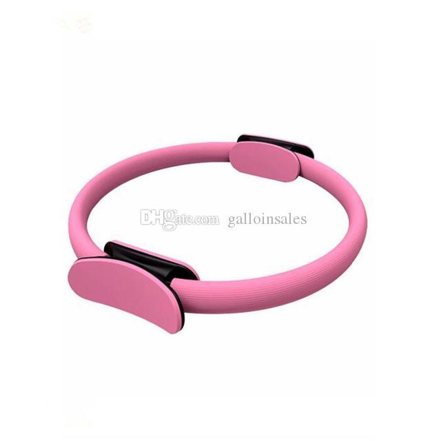 Alle Farben Dual Griff Yoga Pilates Ring Magic Wrap Abnehmen Kreis Oberschenkel und Beine Fitness Gebäude Training Yoga Kreis YPR001