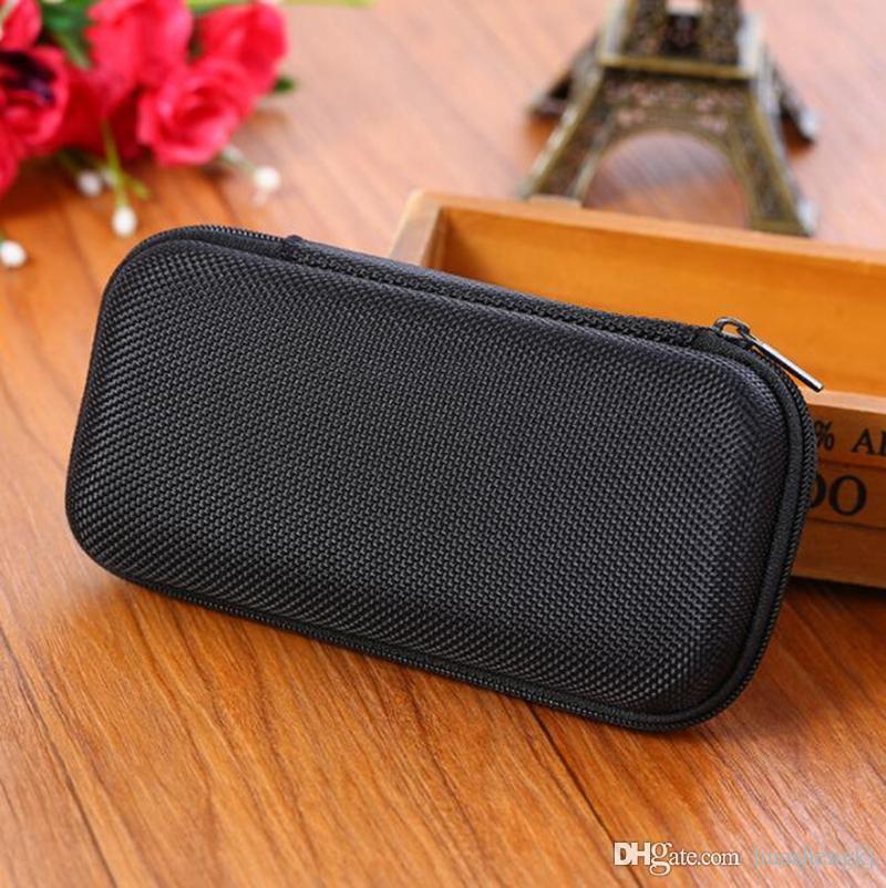 EVA Zipper Sac protection Shell Case Portable Protect Boîtier Pour Evod EGO Vape Pod Heat-non-Burn Kit pipe en verre Bong outil DHL