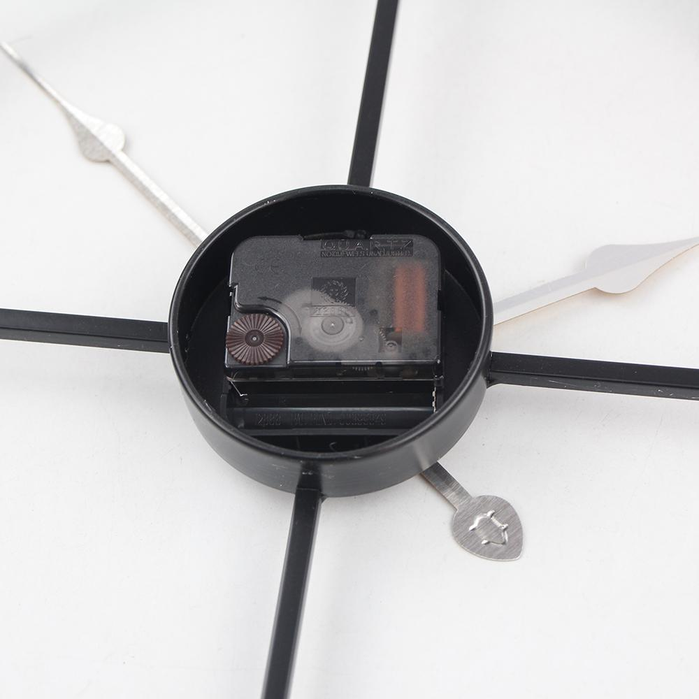 Reloj de pared vintage 60 cm gran reloj Clokc Metal forjado reloj de hierro Industrial reloj Saat clásico
