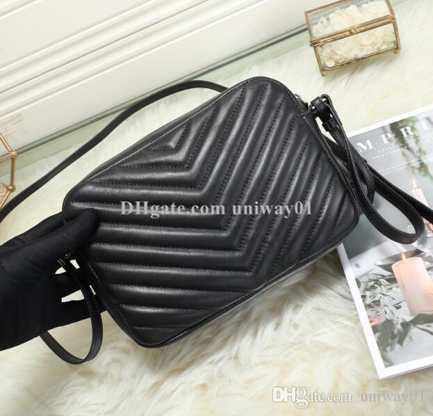 جلد طبيعي جيد النوعية امرأة نساء رسول حقيبة هيئة الصليب حقيبة يد مصمم العلامة التجارية محفظة