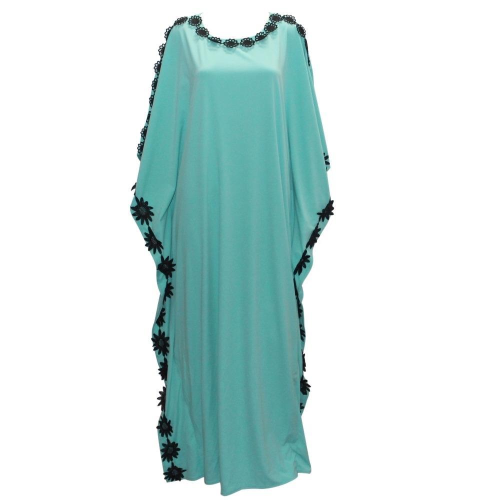 Neue casual design kaftan frauen dress plus größe afrikanischen stil femme vestidos maxi lange sommer herbst dress