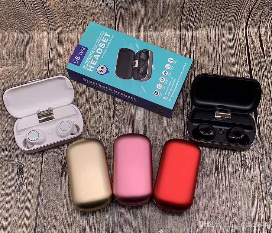 Patlama modelleri S8 Bluetooth kulaklık spor çağrı şarj depo dinlemek için mobil güç sürücü şarkıları çağrı kulak