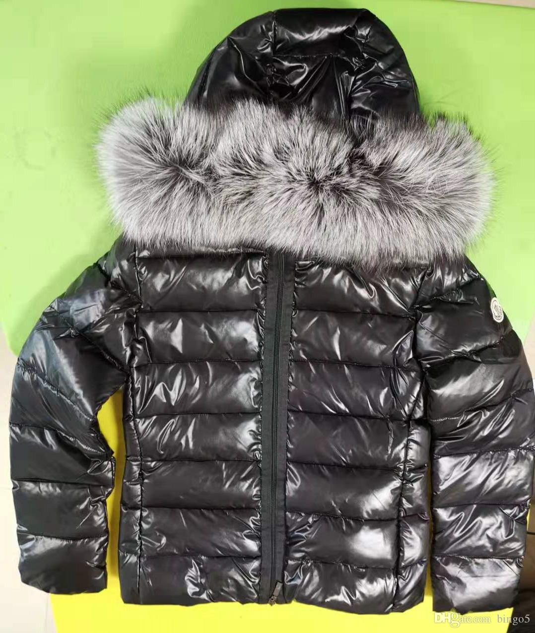 Marca Mulheres Fox Fur Belt Duck Down Jacket Designer Mulheres Zipper Casaco Quente de Inverno Com Capuz Curto