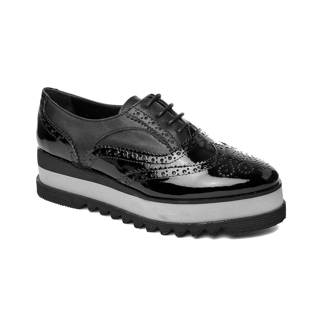 ck John May Femme Oxford-Shoe Cet 7615-03 Mocau ck