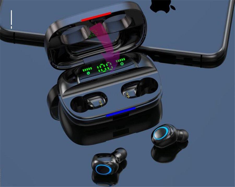 I11 Vero stereo senza fili auricolari Bluetooth 5.0 Tws auricolari con il Mic Charging Box auricolare Auto-Accoppiamento per Android Phone # OU404