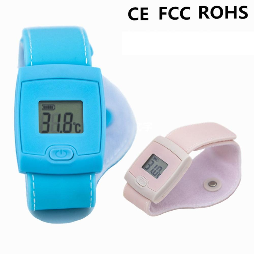 Smart Bluetooth Children Baby Thermometer red and blue optional
