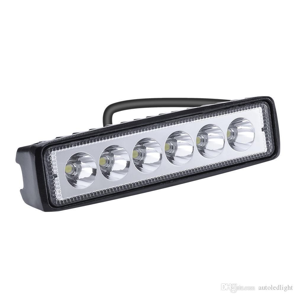 Work Lights 18W 6 beads LED word with reflector car light LED work light For Trunks Car