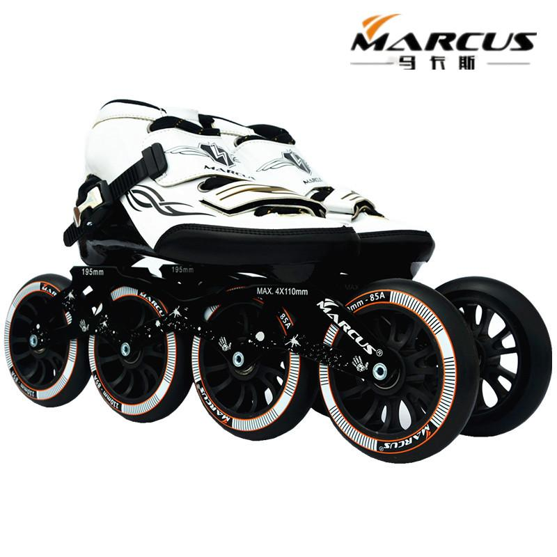ZODOR MARCUS Inline speed skates shoes for beginner practice daily sports roller skating patines worth buying 4X110mm wheel base