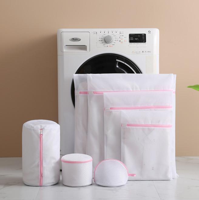 أحدث 15 نوعا من حجم سميكة شبكة سميكة سميكة شبكة كيس الغسيل غسل الملابس الرعاية حقيبة ضمان الجودة الشحن المجاني