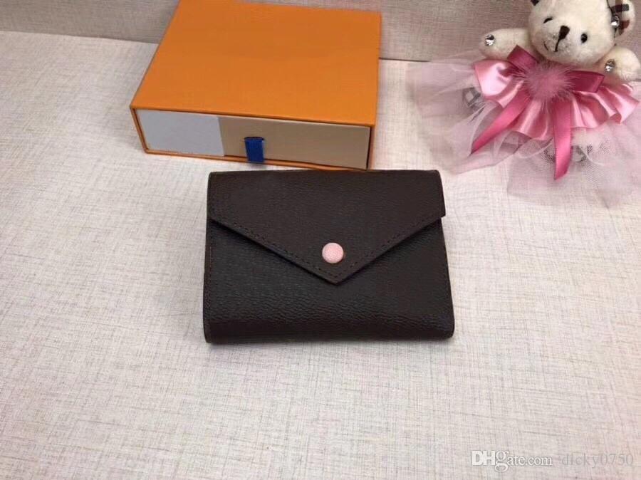 Großhandel Designer Wallet Leder Multicolor Münze Geldbörse kurze Geldbörse Polychromatische Geldbörse Dame Kartenhalter klassische Mini-Reißverschluss-Tasche