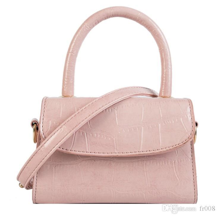 Krokodil-Muster-Crossbody Beutel für Frauen Handtasche Kleine Beutel PU-Leder-Dame-Designer Abendtaschen