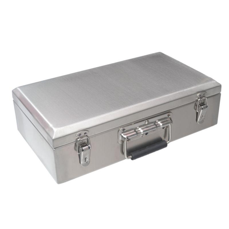 Toolcatura portatile in acciaio inox Casa Multifunzione Strumenti di archiviazione Strumenti di riparazione strumento di riparazione Scatola di equiturismo