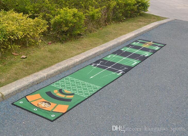 Golf Carpet Mini Putting Ball Pad Practice Mat Indoor Golf Green Practice Office Machine Washable