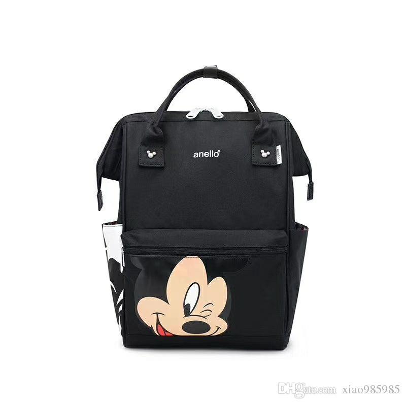 Rucksäcke Unisex-Taschen Mode Tasche Teenager-Schule-Beutel-Frauen-Mann-Rucksack-Qualitäts-Reisetasche