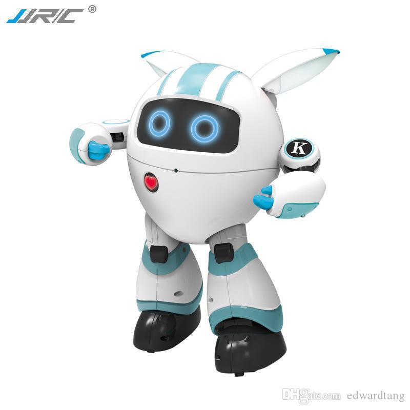 JJRC R14 التحكم عن بعد مرافقة الروبوت، لعبة التعليم المبكر لعبة الغناء الرقص و Tell قصة، قابل للبرمجة، للحزب عيد الميلاد هدية عيد ميلاد