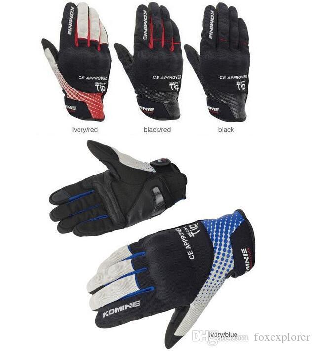 2019 Gants de moto Gants de chevalier printemps et en été toucher gants d'équitation drop-proof écran GK-176